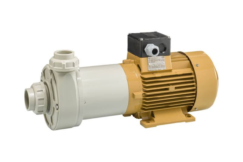 PP horizontal pump M150 - Series M110 .. M400